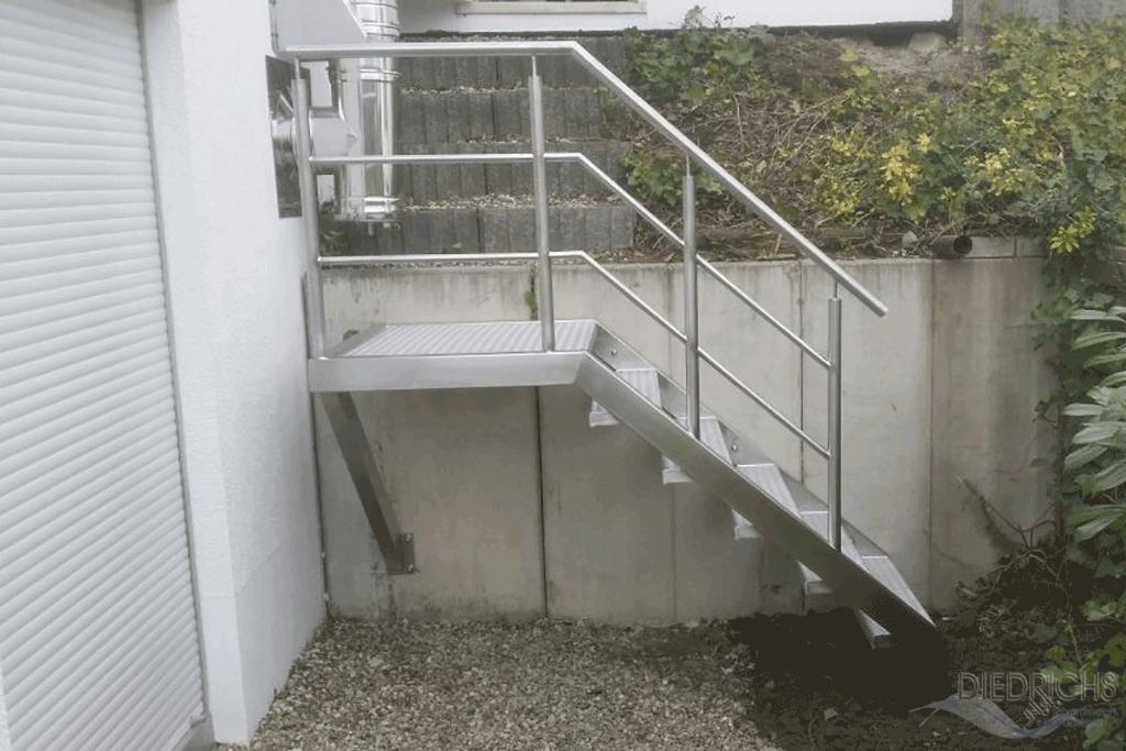 Gartentreppen - Handlauf fur gartentreppe ...